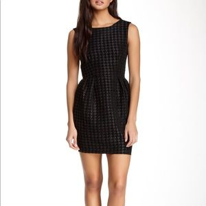 American Apparel Houndstooth Cocktail Dress